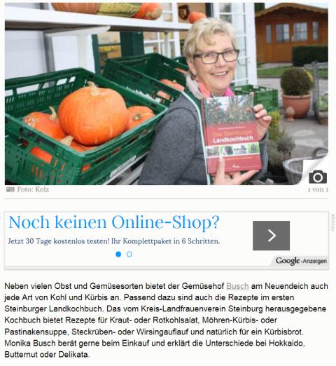 SHZ Kochbuch